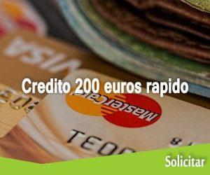 Credito 200 euros rapido