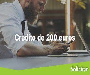 Credito de 200 euros