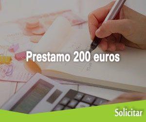 Prestamo 200 euros