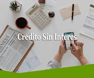 credito sin interes