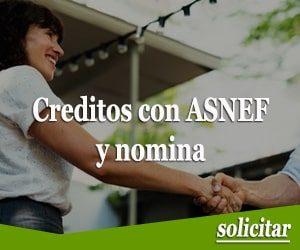 Creditos con ASNEF y nomina