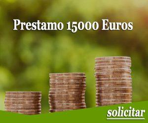 Prestamo 15000 euros