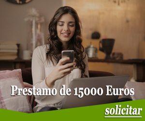 Prestamo de 15000 euros