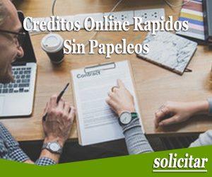 Creditos online rapidos sin papeleos