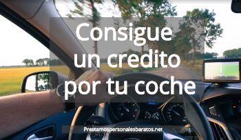 credito por tu coche